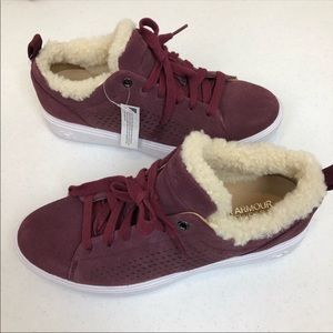 662c87c629d4 ➖Under Armour➖ cape side suede shearling sneakers